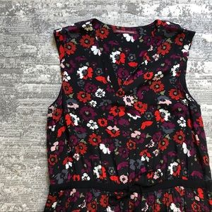 Comptoir des Cottoniers XL Floral Drop Waist Dress